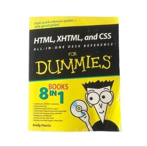 HTML XHTML and CSS Desk Reference for Dummies Book